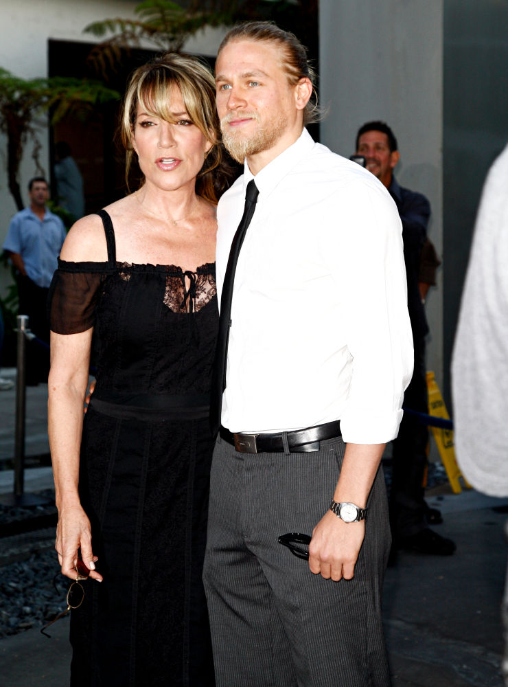 Katey Sagal, Charlie Hunnam in FX's 'Sons of Anarchy' Season 3 Premiere
