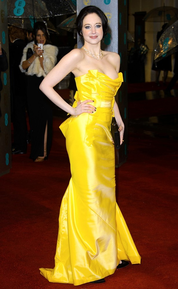 Andrea Riseborough<br>The 2013 EE British Academy Film Awards - Arrivals