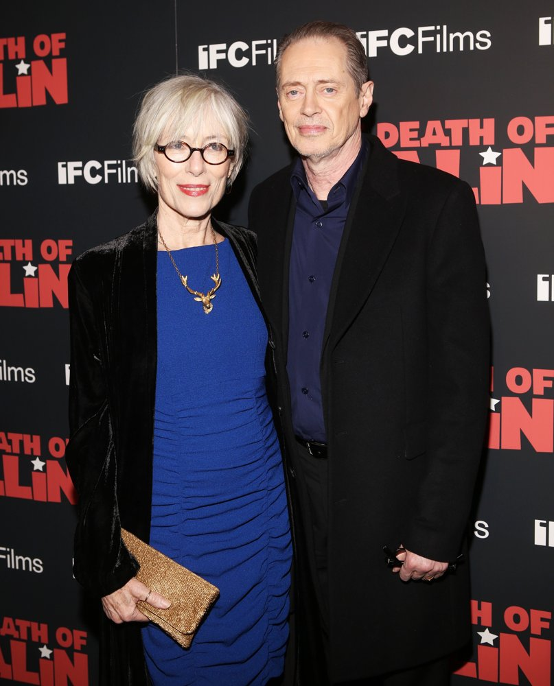 Jo Andres, Steve Buscemi<br>New York Premiere of The Death of Stalin