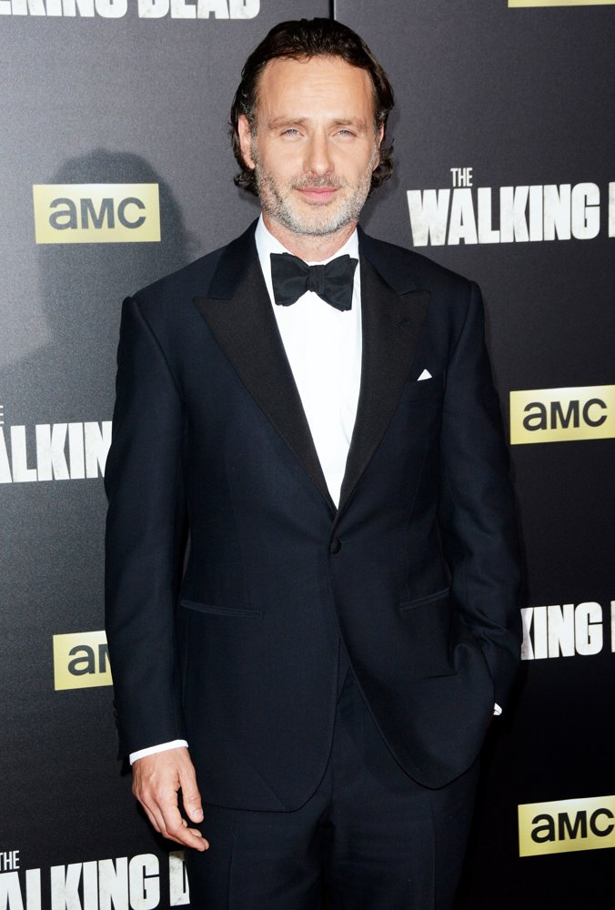 Andrew Lincoln<br>The Walking Dead Season 6 Premiere - Red Carpet Arrivals