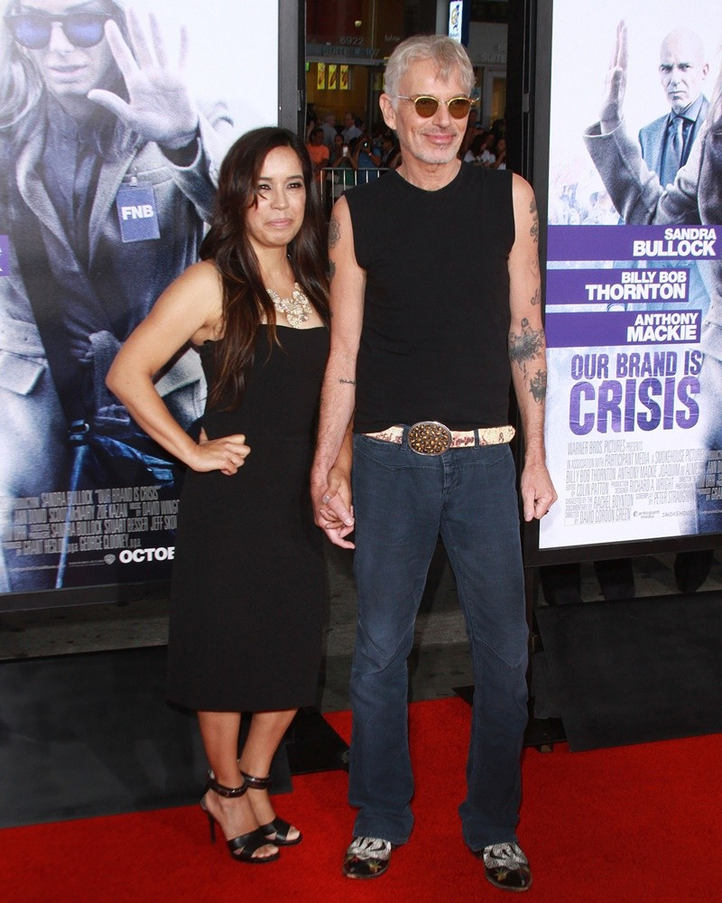 Connie Angland, Billy Bob Thornton<br>Our Brand Is Crisis Premiere