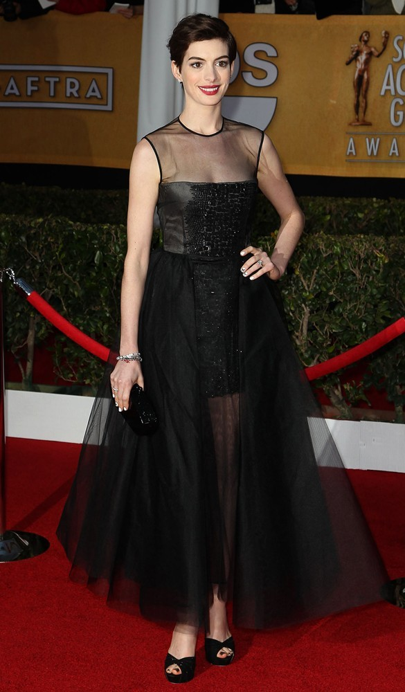 Anne Hathaway<br>19th Annual Screen Actors Guild Awards - Arrivals