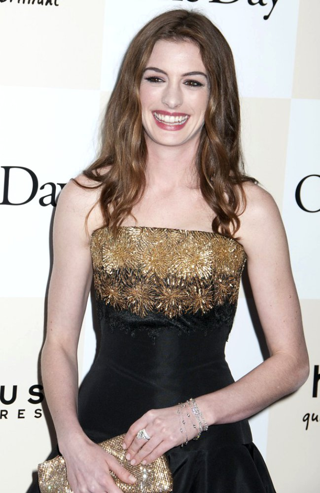 Anne Hathaway<br>New York Premiere of One Day