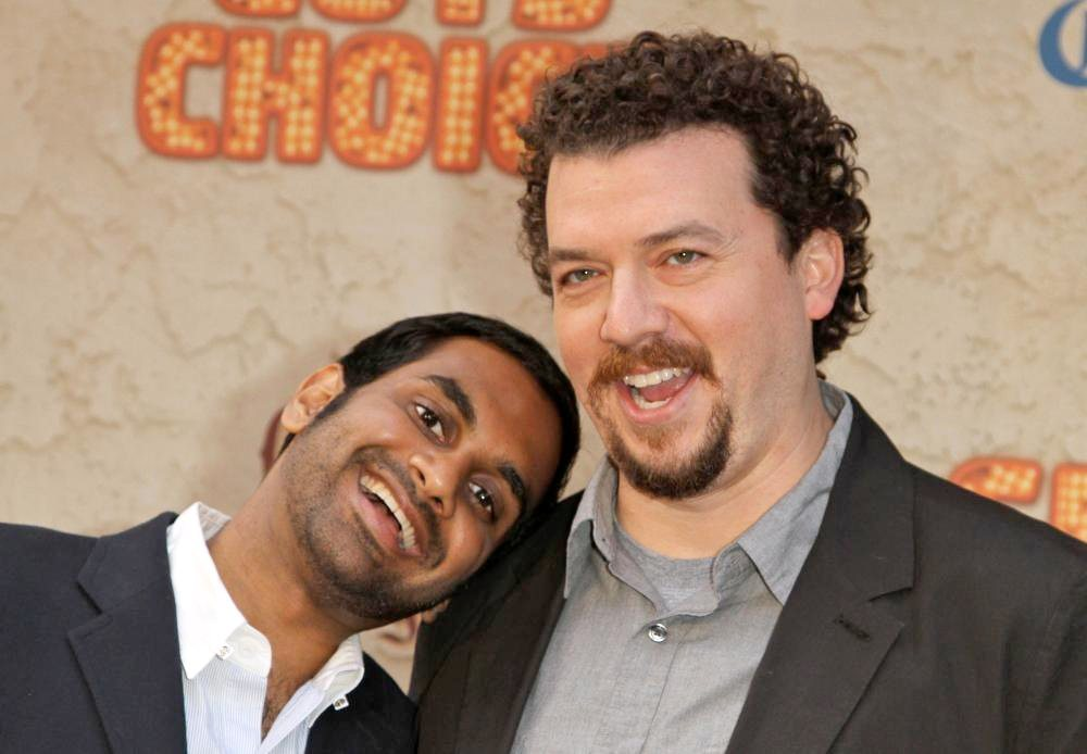 Aziz Ansari, Danny McBride<br>Spike TV's 5th Annual 2011 Guys Choice Awards - Arrivals