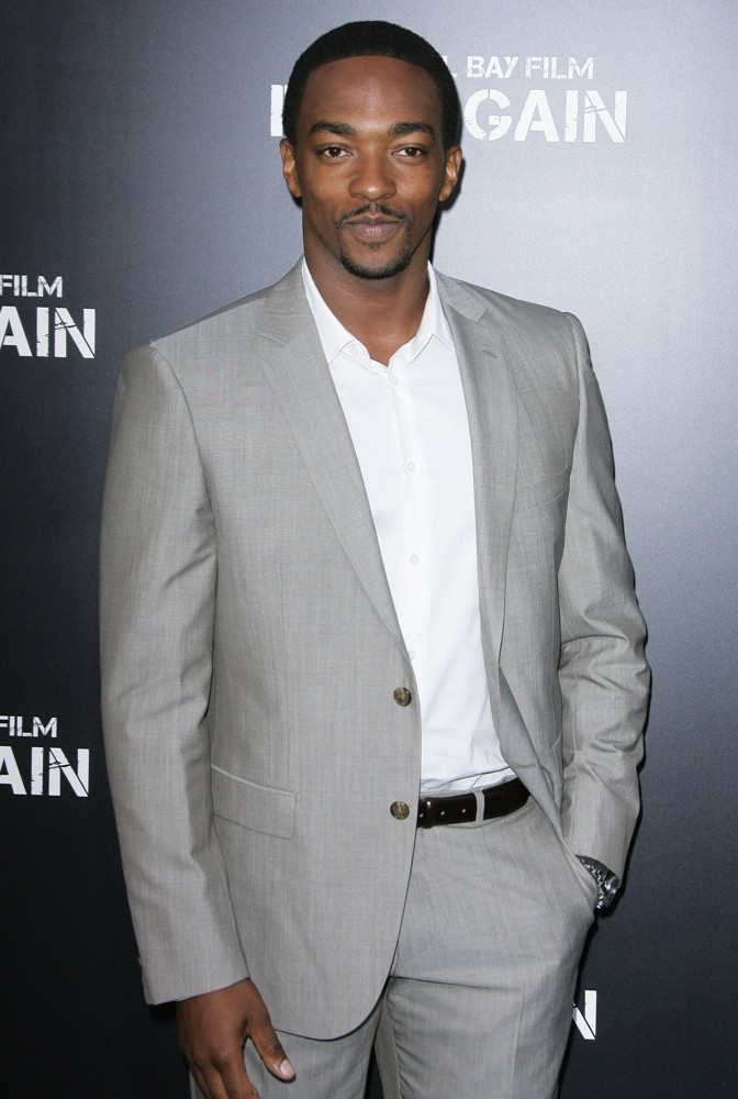 Anthony Mackie<br>Los Angeles Premiere of Pain and Gain - Arrivals