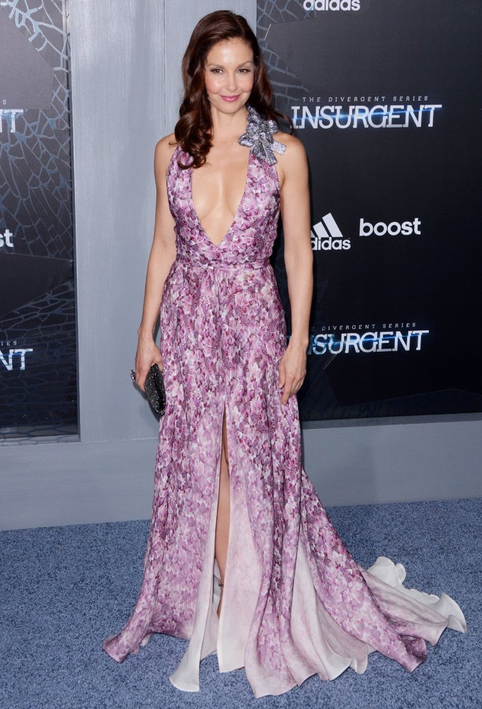 Ashley Judd<br>US Premiere of The Divergent Series: Insurgent - Red Carpet Arrivals