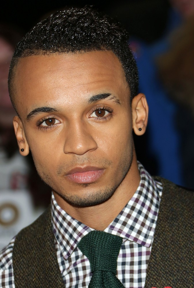 Aston Merrygold, JLS<br>The MOBO Awards 2012 - Arrivals