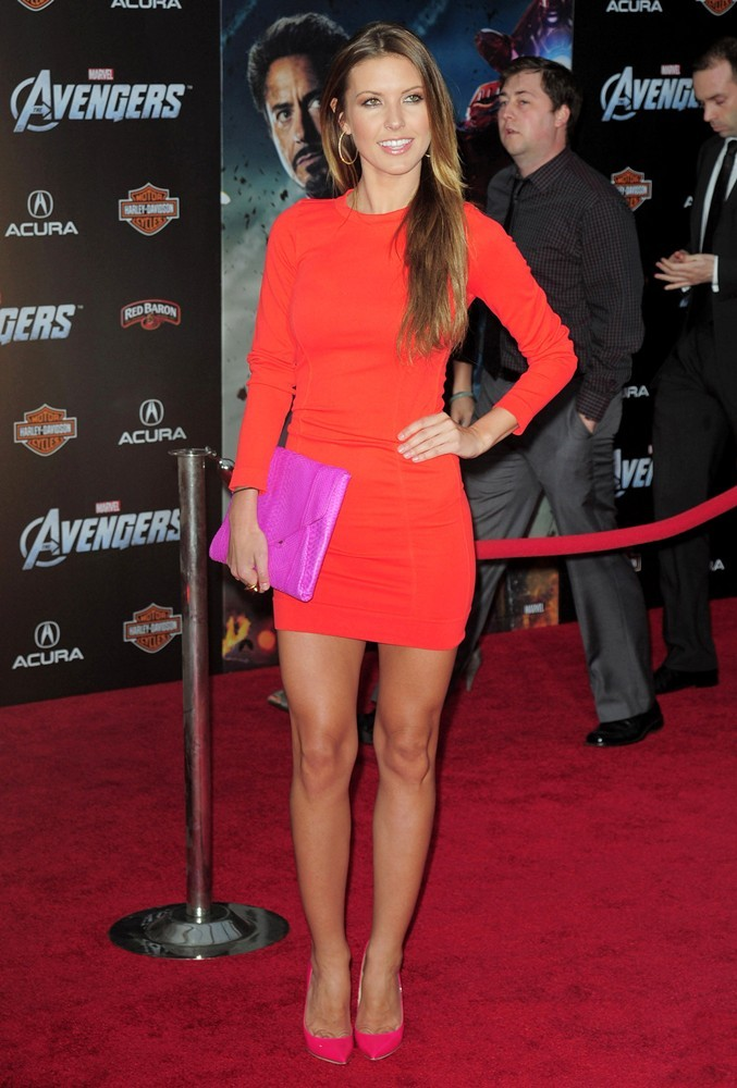 Audrina Patridge<br>World Premiere of The Avengers - Arrivals