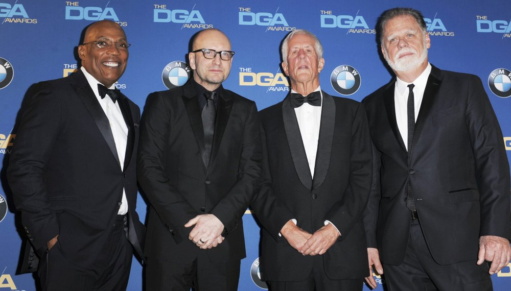 Paris Barclay, Steven Soderbergh, Michael Apted, Taylor Hackford<br>The 66th Annual DGA Awards - Press Room