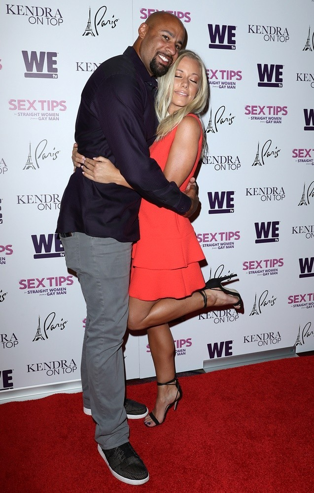 Hank Baskett, Kendra Wilkinson<br>Sex Tips for Straight Women from A Gay Man Red Carpet VIP Premiere