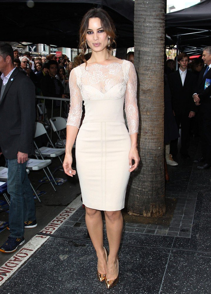 Berenice Marlohe<br>Javier Bardem Is Honored with A Hollywood Star on The Hollywood Walk of Fame