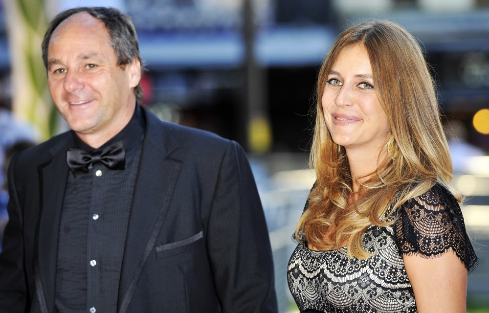 Gerhard Berger, Ana Corvo<br>World Premiere of Rush - Arrivals