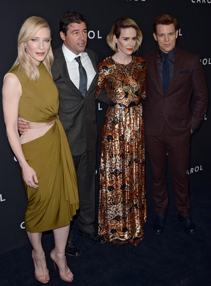 Cate Blanchett, Kyle Chandler, Sarah Paulson, Jake Lacy<br>Carol New York Premiere - Red Carpet Arrivals
