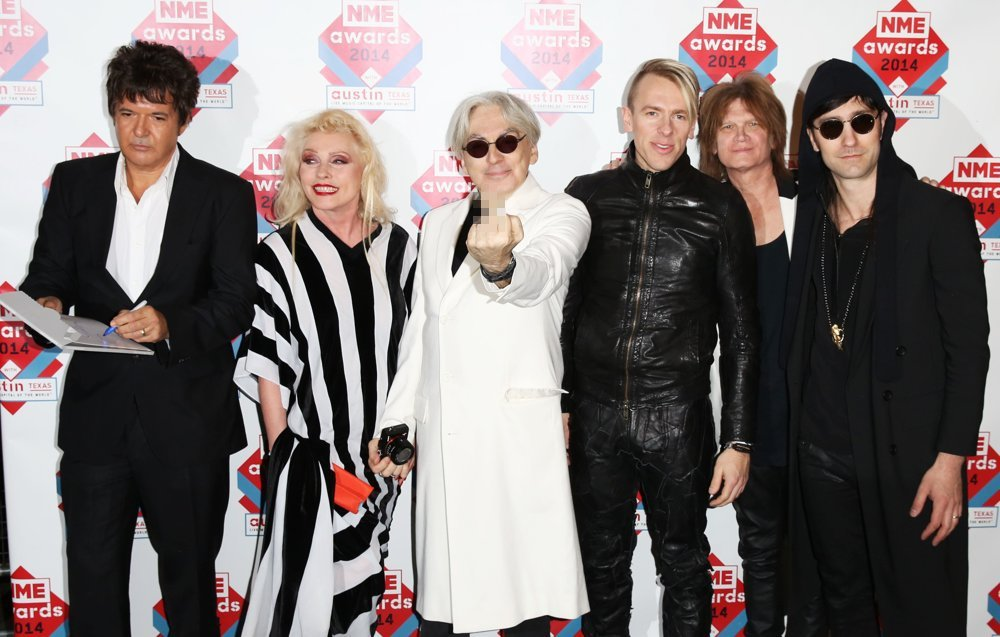 Blondie<br>The NME Awards 2014 - Arrivals