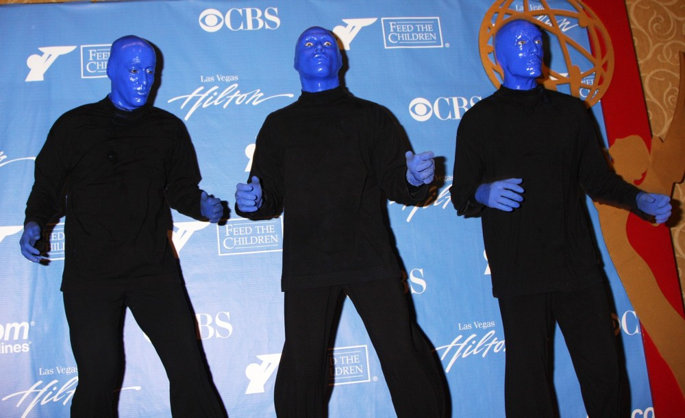 Blue man group picture 19 2010 daytime emmy awards press room - Blue man group box office ...