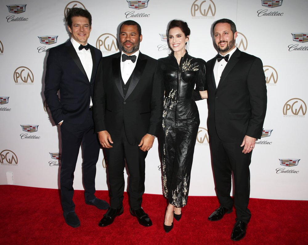Jason Blum, Jordan Peele, Allison Williams, Sean McKittrick<br>29th Annual Producers Guild Awards - Arrivals