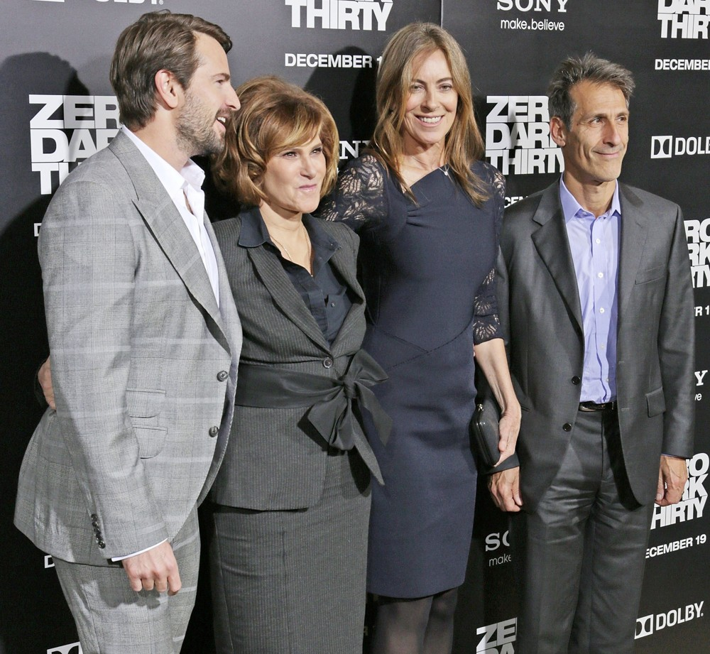 Mark Boal, Amy Pascal, Kathryn Bigelow, Michael Lynton<br>Los Angeles Premiere of Columbia Pictures' Zero Dark Thirty