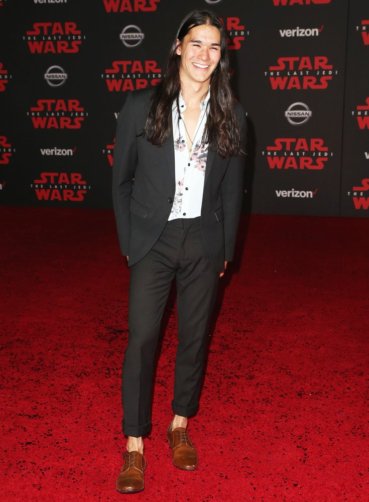 Booboo Stewart<br>Premiere of Disney Pictures and Lucasfilm's Star Wars: The Last Jedi