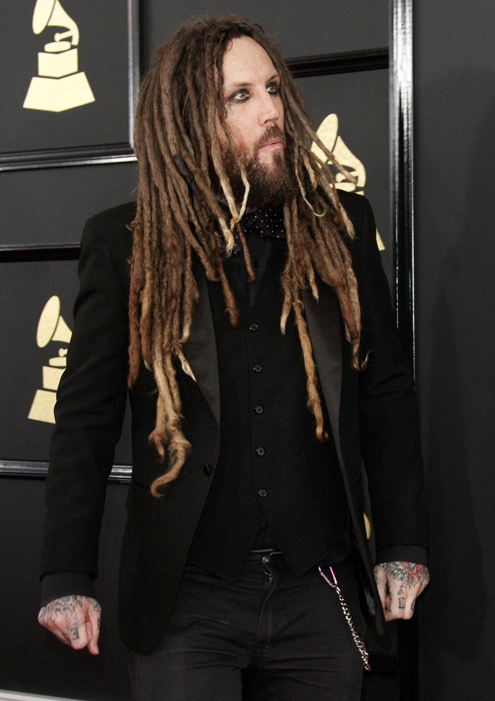 Brian Welch, Korn<br>59th Annual GRAMMY Awards - Arrivals