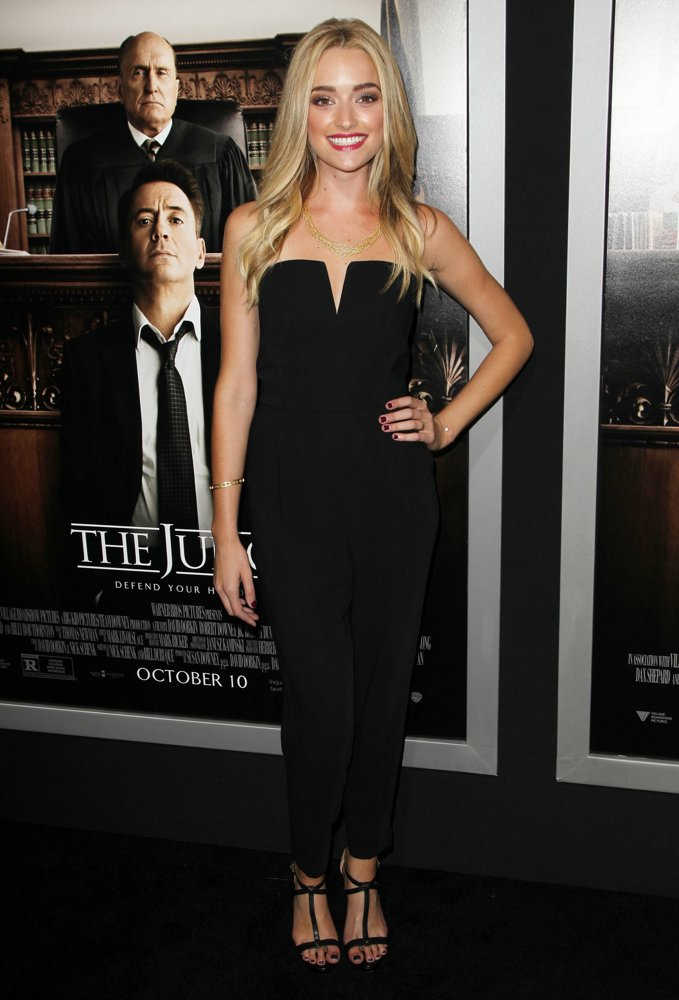 Brianne Howey<br>Premiere of Warner Bros. Pictures and Village Roadshow Pictures' The Judge