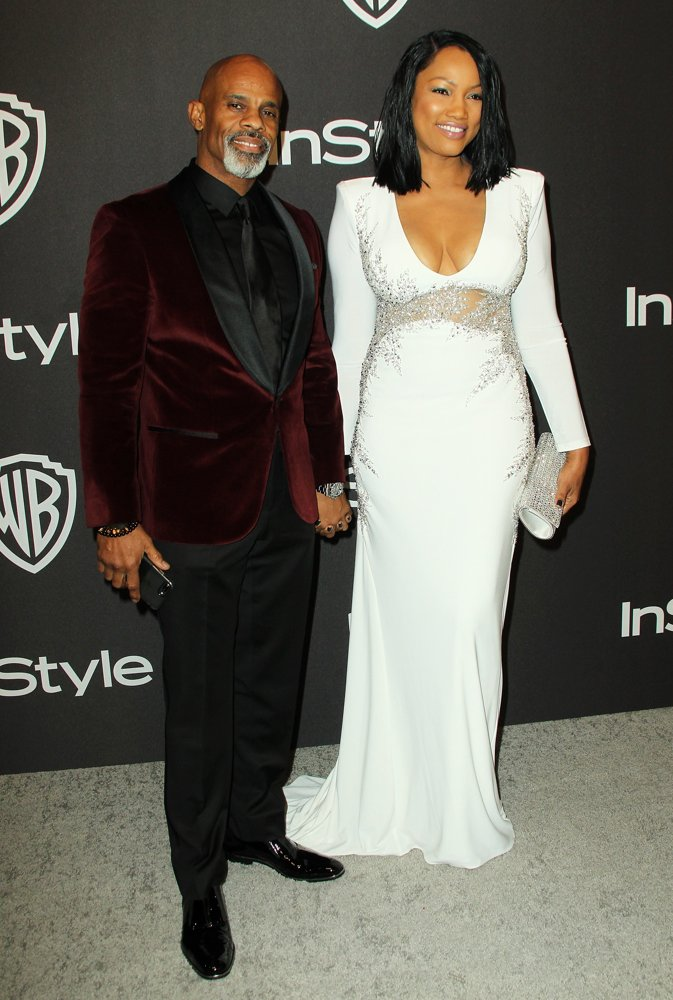 Ted Bunch, Garcelle Beauvais<br>InStyle Warner Bros Golden Globe After Party 2019