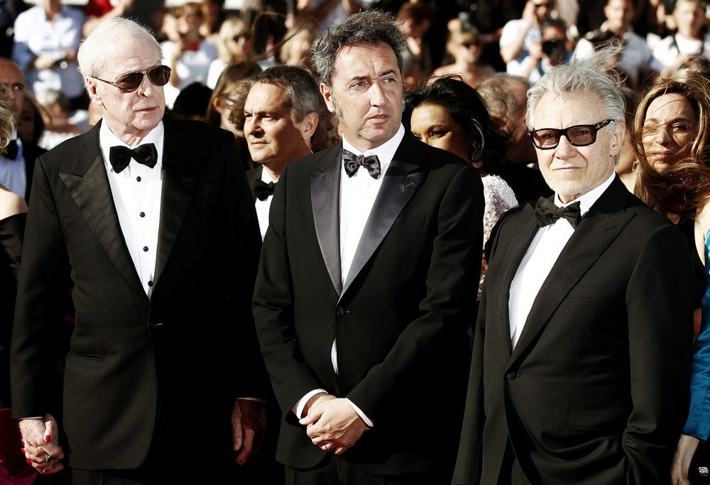 Michael Caine, Paolo Sorrentino, Harvey Keitel<br>68th Annual Cannes Film Festival - Youth - Premiere