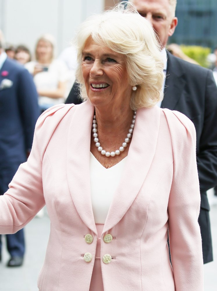 Camilla Parker Bowles<br>Duchess of Cornwall Visits Youtube Space