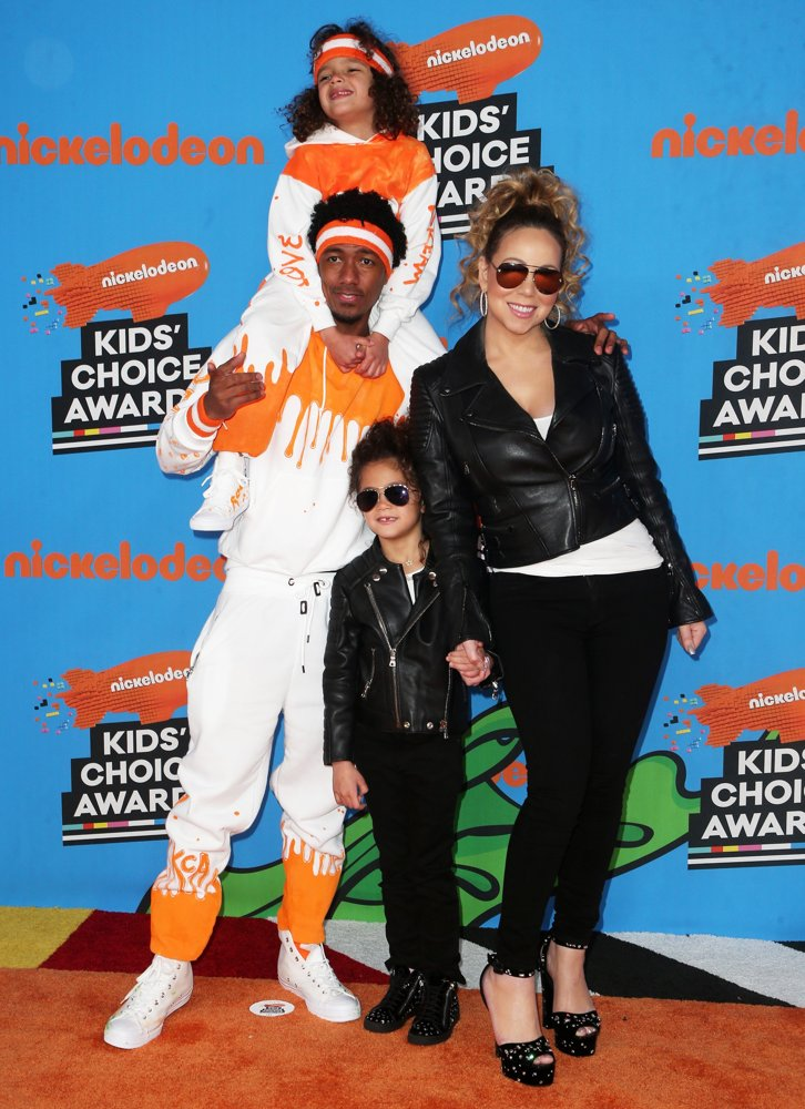 Moroccan Scott Cannon, Nick Cannon, Monroe Cannon, Mariah Carey<br>Nickelodeon's 2018 Kids' Choice Awards