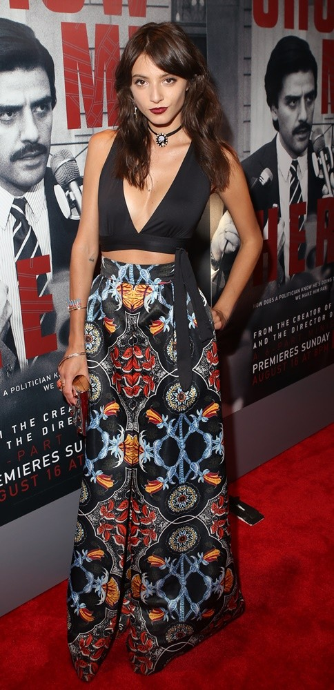 Carla Quevedo<br>New York Premiere of HBO's Show Me a Hero - Red Carpet Arrivals