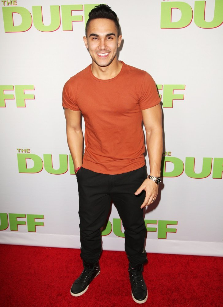 Carlos Pena Jr., Big Time Rush<br>Los Angeles Fan Screening of The DUFF - Red Carpet Arrivals