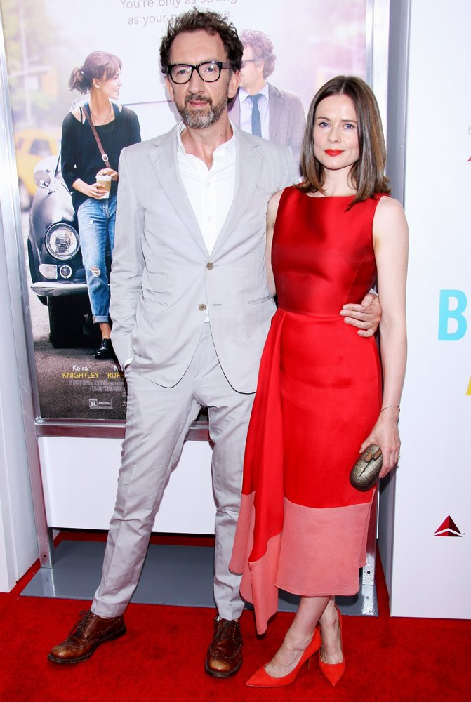 John Carney, Marcella Plunkett<br>The New York Premiere of Begin Again - Arrivals