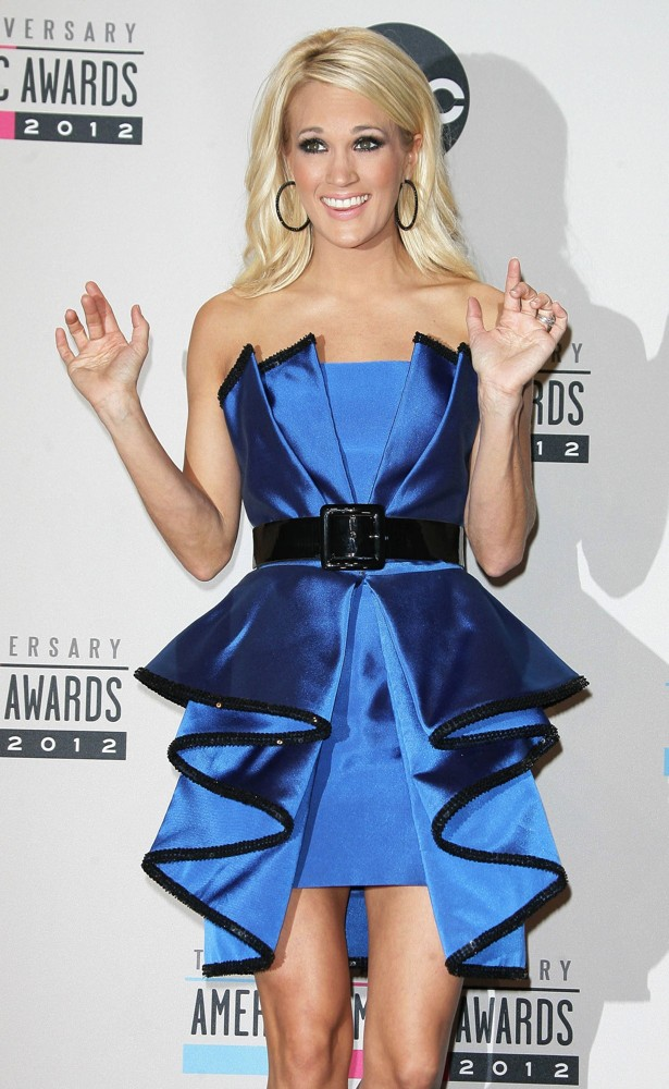 Carrie Underwood<br>The 40th Anniversary American Music Awards - Press Room