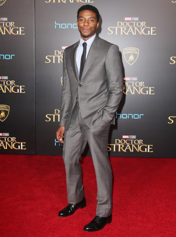 Chadwick Boseman<br>Premiere of Disney and Marvel Studios' Doctor Strange - Arrivals
