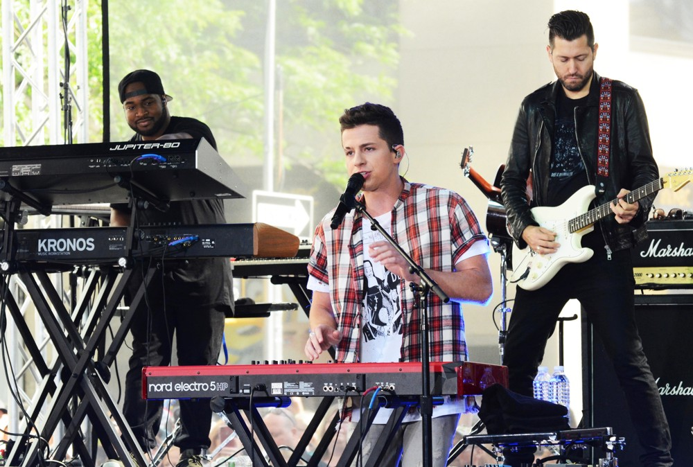 Charlie Puth<br>Charlie Puth Performs on The Today Show