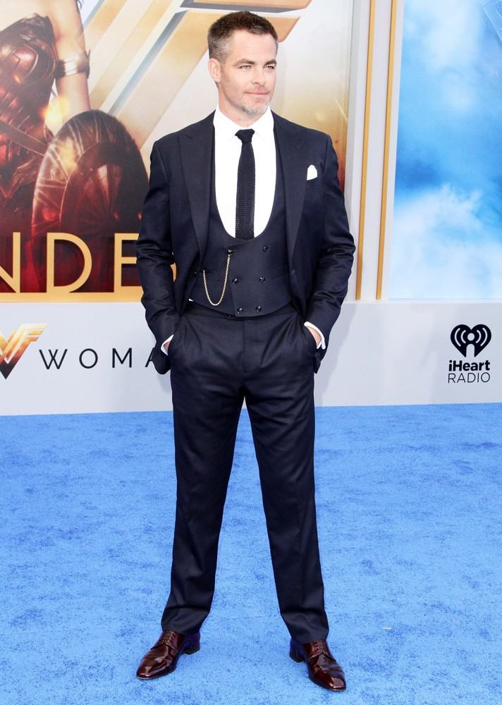 Chris Pine<br>Wonder Woman World Premiere