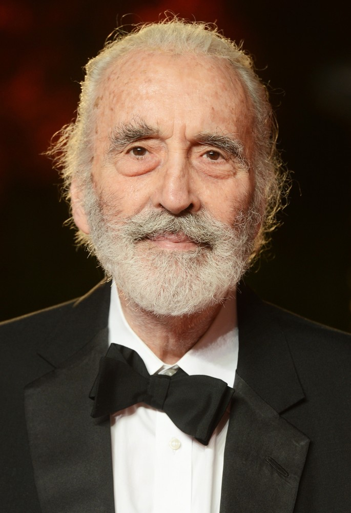 Christopher Lee<br>World Premiere of Skyfall - Arrivals