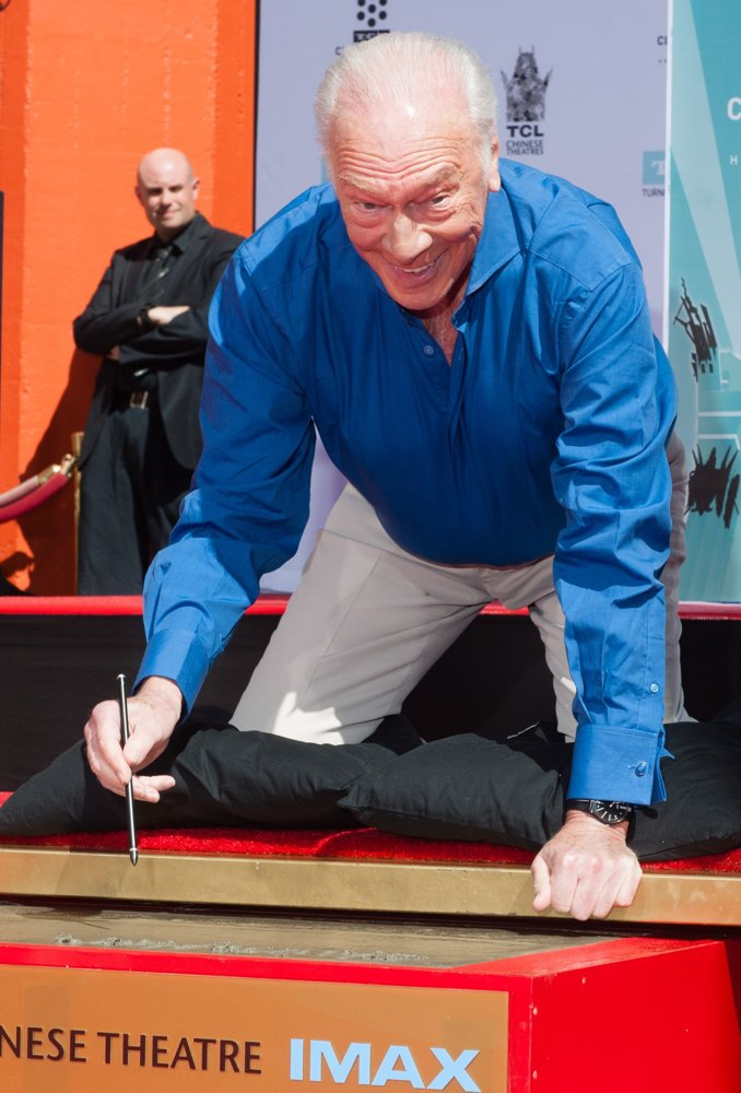 Christopher Plummer<br>Christopher Plummer Hand and Footprint Ceremony