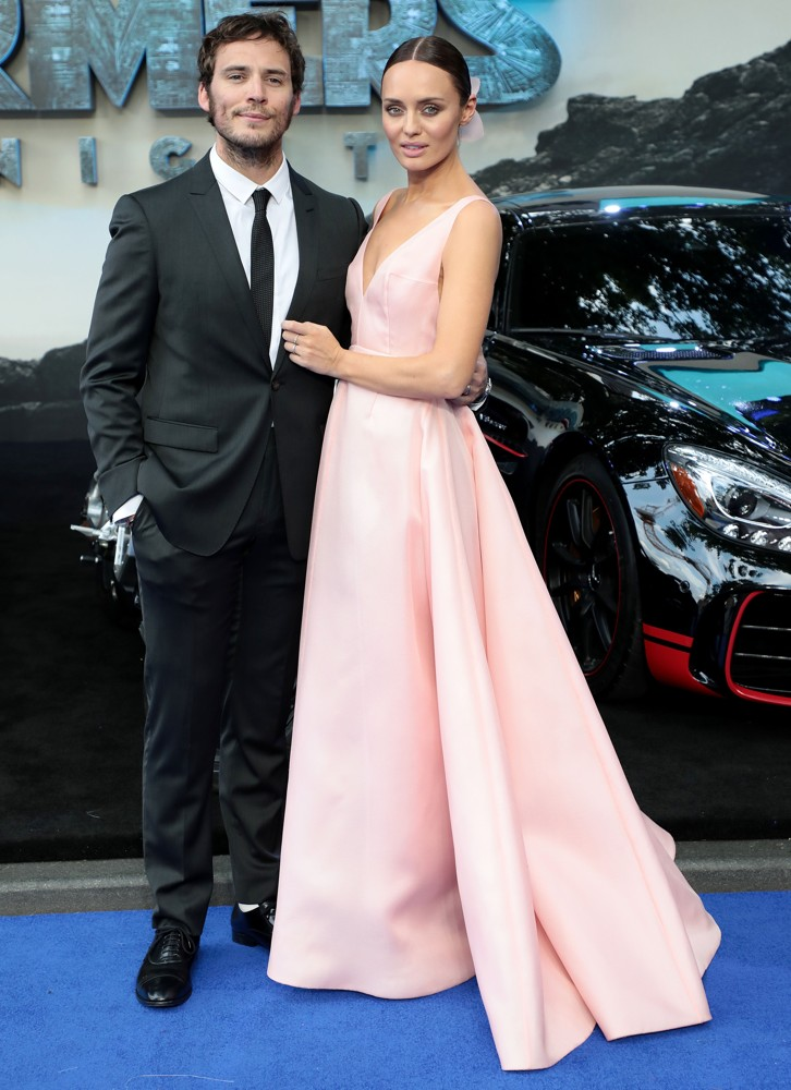 Sam Claflin, Laura Haddock<br>The Global Premiere of Transformers: The Last Knight - Arrivals