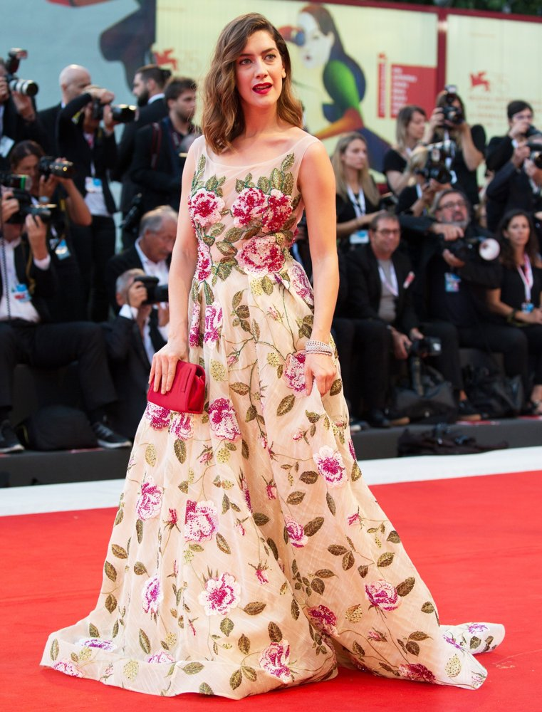 Clara Alonso<br>75th Venice International Film Festival - At Eternity's Gate - Premiere