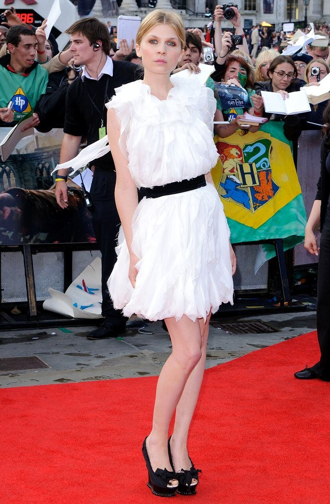 Clemence Poesy<br>Harry Potter and the Deathly Hallows Part II World Film Premiere - Arrivals