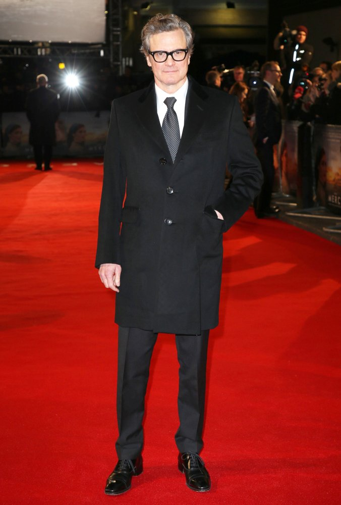 Colin Firth<br>The Mercy World Premiere - Arrivals