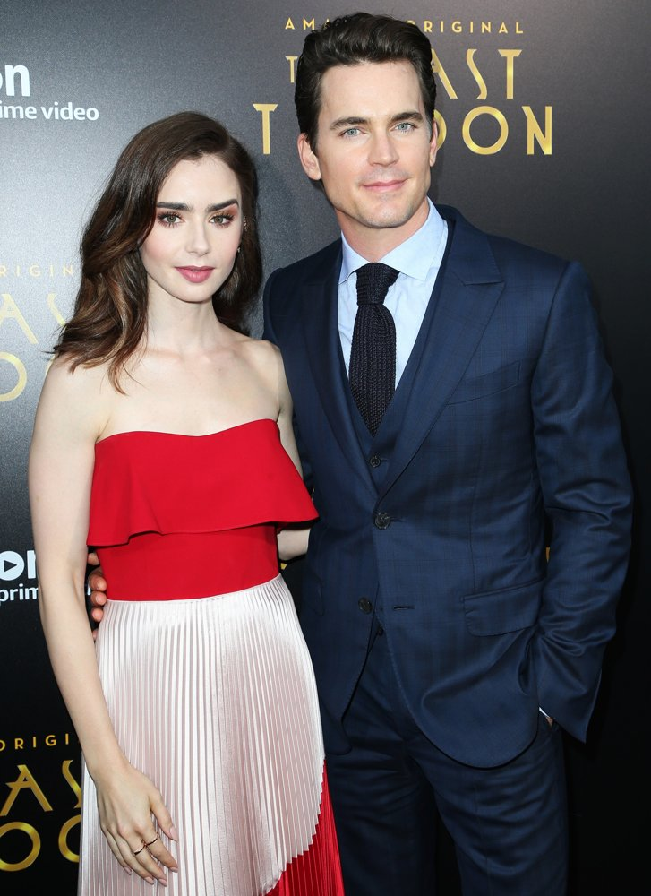 Lily Collins, Matthew Bomer<br>Premiere of Amazon Studios' The Last Tycoon - Arrivals