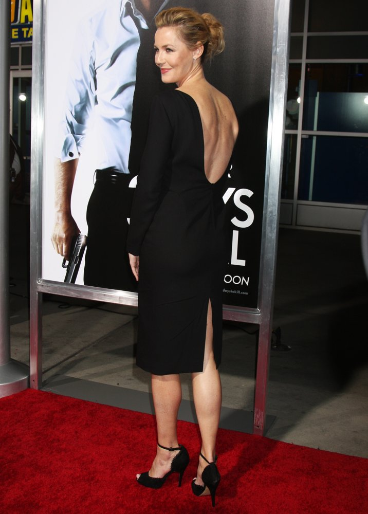 Connie Nielsen<br>3 Days to Kill Premiere - Red Carpet Arrivals