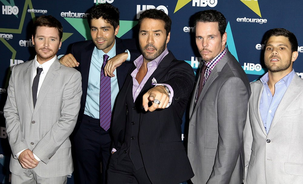 Kevin Connolly, Adrian Grenier, Jeremy Piven, Kevin Dillon, Jerry Ferrara<br>Final Season Premiere of HBO's Entourage