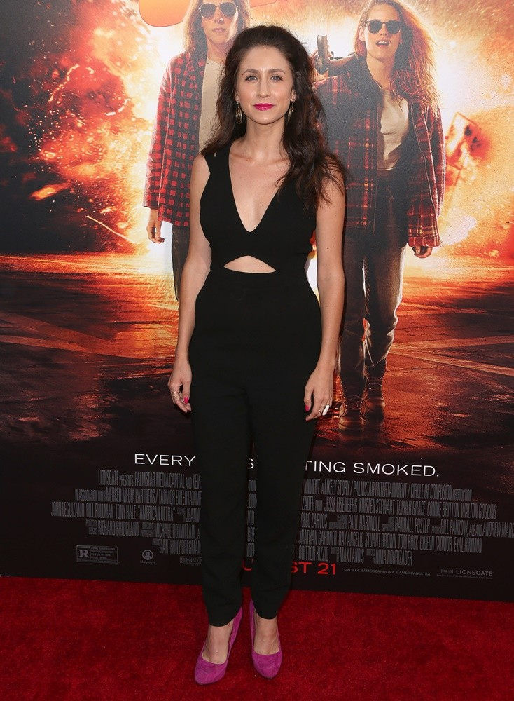 Courtney J. Clark<br>The Los Angeles Premiere of American Ultra