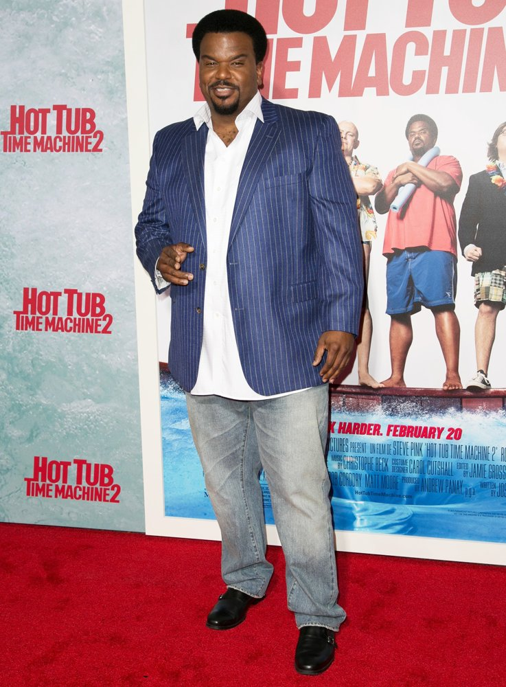 Craig Robinson<br>Los Angeles Premiere of Hot Tub Time Machine 2 - Red Carpet Arrivals