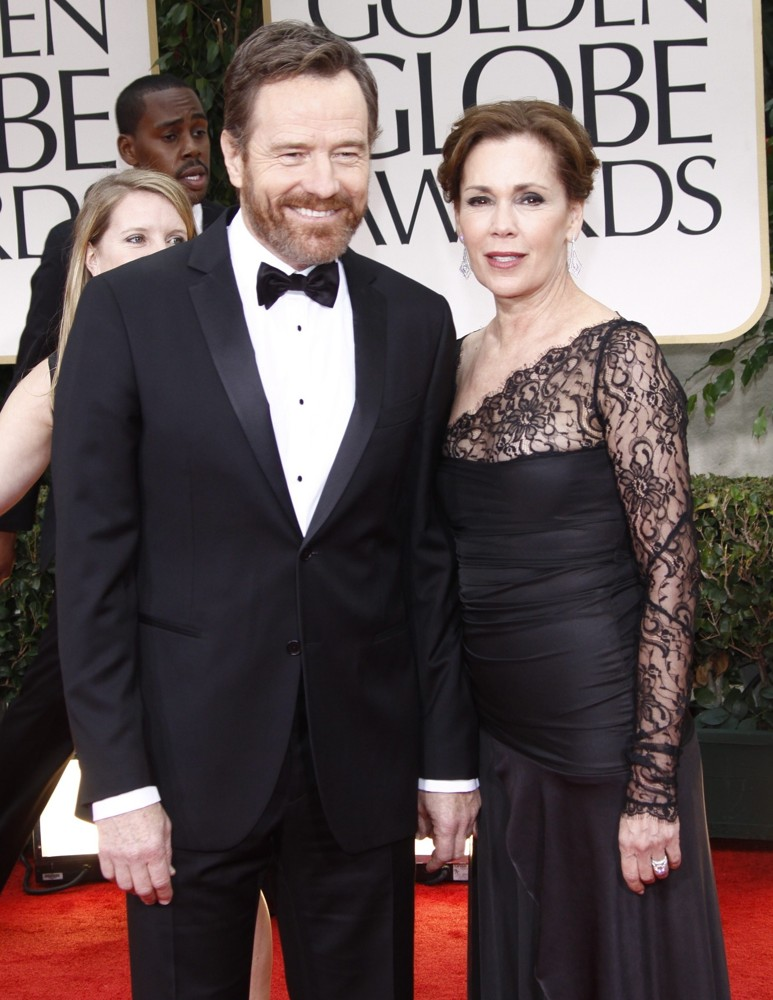 Bryan Cranston with gracious, Wife Robin Dearden