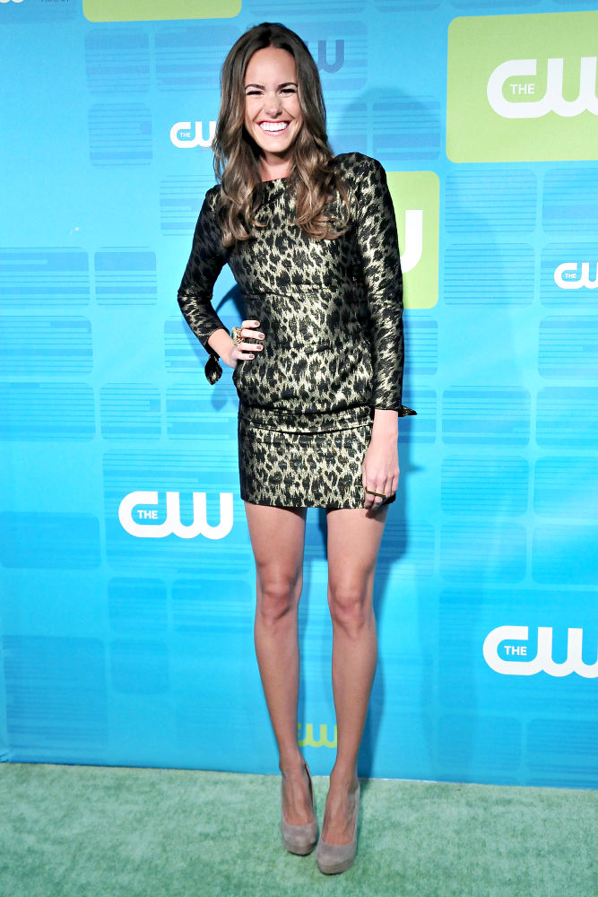 Louise Roe<br>2010 The CW Network UpFront - Arrivals