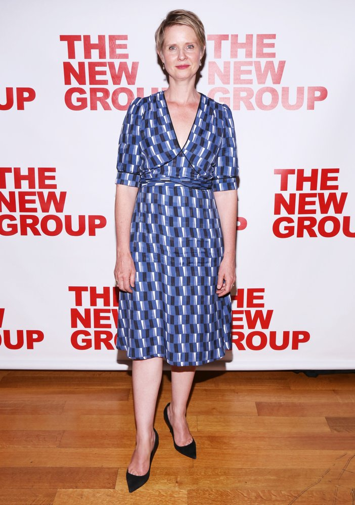 Cynthia Nixon<br>Opening Night Party for The True