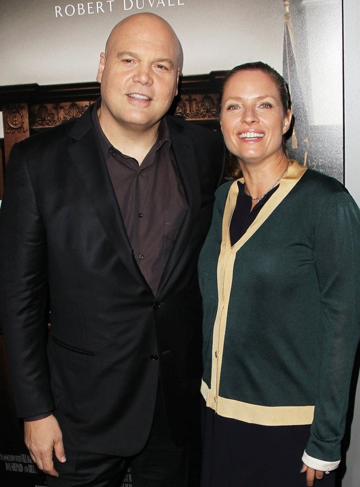 Vincent D'Onofrio, Carin van der Donk<br>Premiere of Warner Bros. Pictures and Village Roadshow Pictures' The Judge